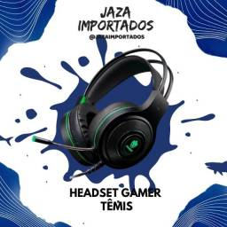 Headset Gemer Têmis - Ultra qualidade e conforto para aproveitar seu jogo !
