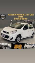 Título do anúncio: Nissan MARCH 1.0 2016   ( único dono )