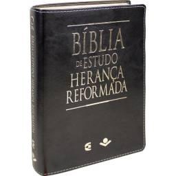 Título do anúncio: Bíblia De Estudo Herança Reformada Revista Atualizada Preta