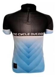 Camiseta Pedal Ciclismo GG Bike Mtb King Proteçao Uv Com Bolso