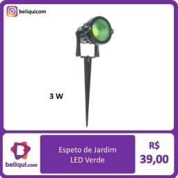 Título do anúncio: Spot LED Espeto para Jardim 3W | Verde