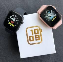 smartwatch T500 iwo13 bluetooth chamada 44mm relógio inteligente