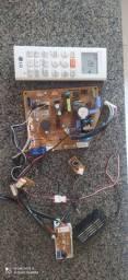 Título do anúncio: Placa da evaporadora do ar condicionado split LG smart inverter