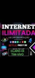 Título do anúncio: Net ilimitada todas operadoras