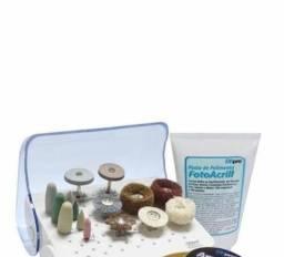 Título do anúncio: Kit polimento Dhpro para resinas acrílicas e cerâmicas