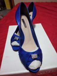 Sapato social ,azul
