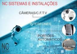 Câmeras - Portões eletrônicos - Interfone