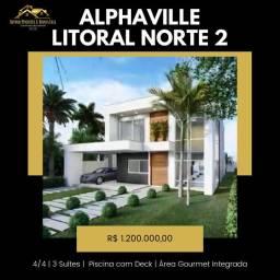 Casa Alphaville Litoral Norte 2 Pagamento Facilitado