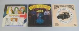 Lote de LPs Diversos Jovem Guarda