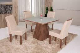 Título do anúncio: Mesa de jantar Europa c/4 cadeiras- Entrega Grátis