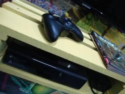 Título do anúncio: XBOX 360 com controle e dois jogos