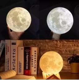 Difusor E Aromatizador Eletrico Luminária Lua 3d
