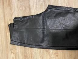 Calça zara feminina couro fake