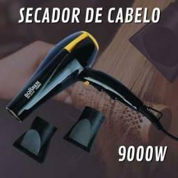 Secador de Cabelo Profissional 9000W P/ Uso Doméstico e Salão<br><br>