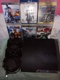 Playstation 3 em ótimo estado