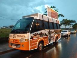 Micro ônibus Publicidade - Motor home