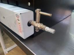Forno a gás em perfeito estado 350 litros linha semi industrial impecavel