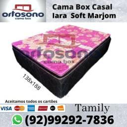 Cama Box de Casal Fofinha D28,Entrega Grátis
