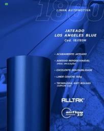 Título do anúncio: 5 metros de adesivo automotivo azul los angeles