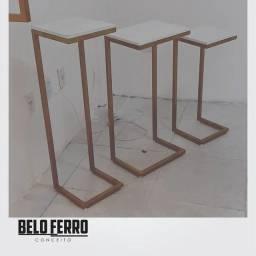 Título do anúncio: Kit 3 mesas de centro para decoração!