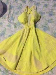 Vestido estilo boneca pano grosso Cm bojo