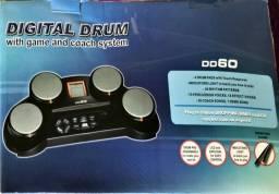 Bateria Eletronica 4 Pads Sensíveis ao Toque Medeli DD-60 - estado de novo