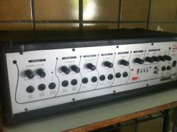 Cabeçote amplificado - multe uso Poly 620 h USB com defeito liga mas o som sai baixo