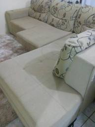 Sofa grande retratil de canto