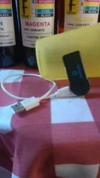Adaptador Bluetooth para carro e som