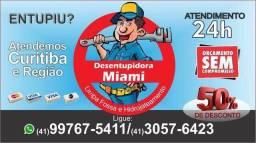 Desentupidora Miami - Atendimento 24 Horas
