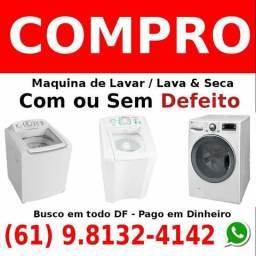 C.o.m.p.r.o Máquina de Lavar e/ou Lava e Seca Com Defeito