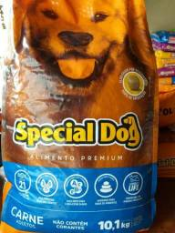 Special dog carne 10,1 kg  adultos grão médio por 80,00