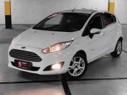 GB - Ford New Fiesta 1.6 Automático, Ar digital / Direção elétrica / Comandos no volante - 2014