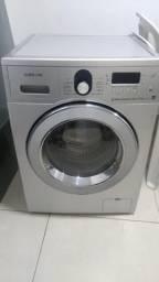 Máquina de lavar e secadora samsung