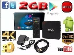Smart Tv Box Mx9 Mxq 2gb Ram Novo Lacrado