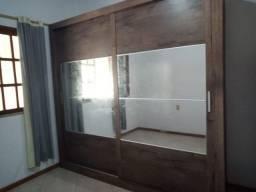 Guarda Roupa Docelar Ipanema 2 Portas de Correr com Pés 4 Espelhos e Portas Bicolor