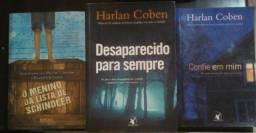 Três livros incríveis por 50,00