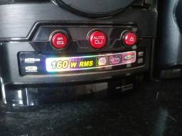 Som LG 160W RMS duplo USB