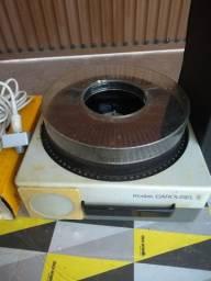 Projetor de slides completo com a mala original Kodak