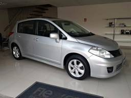Nissan Tiida Hatch 1.8 SL Flex Aut - 2012