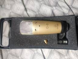 Microfone Condensador Behringer Duplo Diafragma C-3