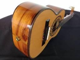Cavaco  - Cavaquinho Lucenir Luthier de Cedro Modelo Especial Com Captador e Jack