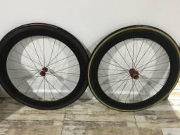 Rodas de carbono bora ultra