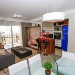Apartamento para Venda em Curitiba, Portão, 3 dormitórios, 1 suíte, 2 banheiros, 2 vagas