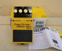 Pedal Boss OS-2 Over Drive / Distortion OS2 para Guitarra