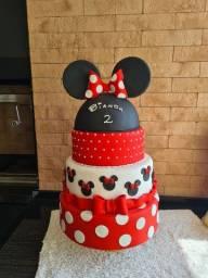 Vendo bolo fake de biscuit Minnie