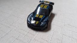 Miniatura Carrinho Hot Wheels Corvette C6 R Loose