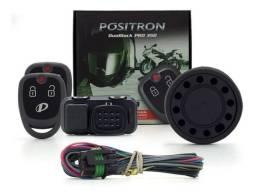 Alarme Para Motos Positron Duoblock Pro 350 G8 Universal Sensor de Movimento e Presença