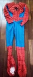 Usado, Fantasia Homem Aranha com Músculos comprar usado  Santo André