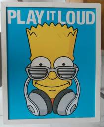 Quadro Wall Street Simpsons Bart, usado comprar usado  Porto Alegre